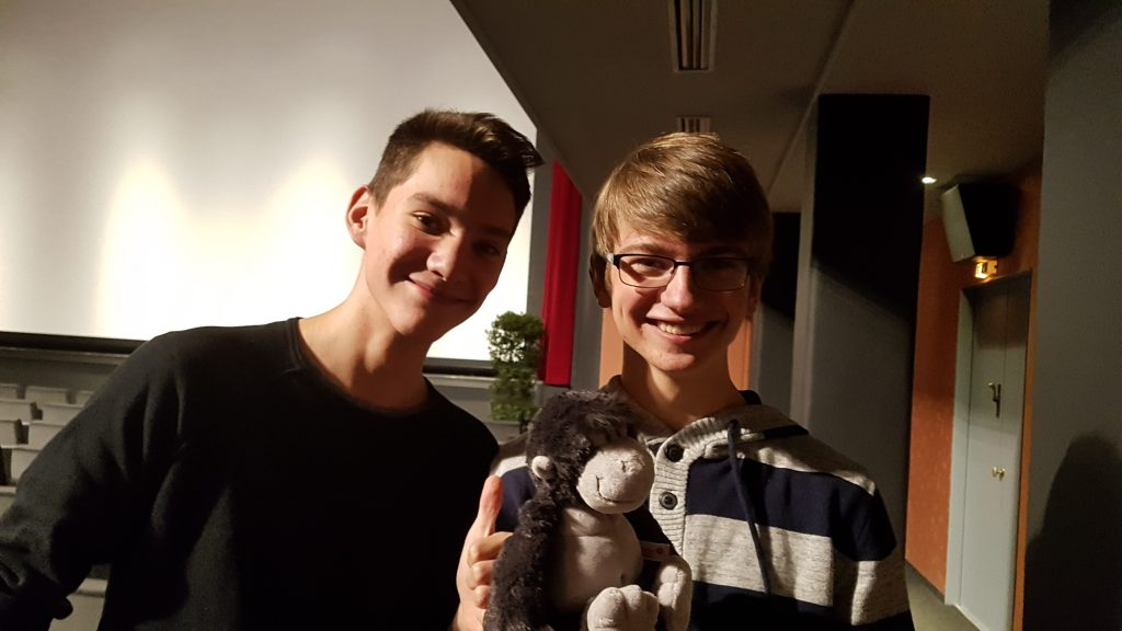 Oscarverdächtig – Timo Weberruß und Johannes Heinen gewinnen den Schülerkurzfilmwettbewerb der Französischen Filmtage Tübingen/Stuttgart