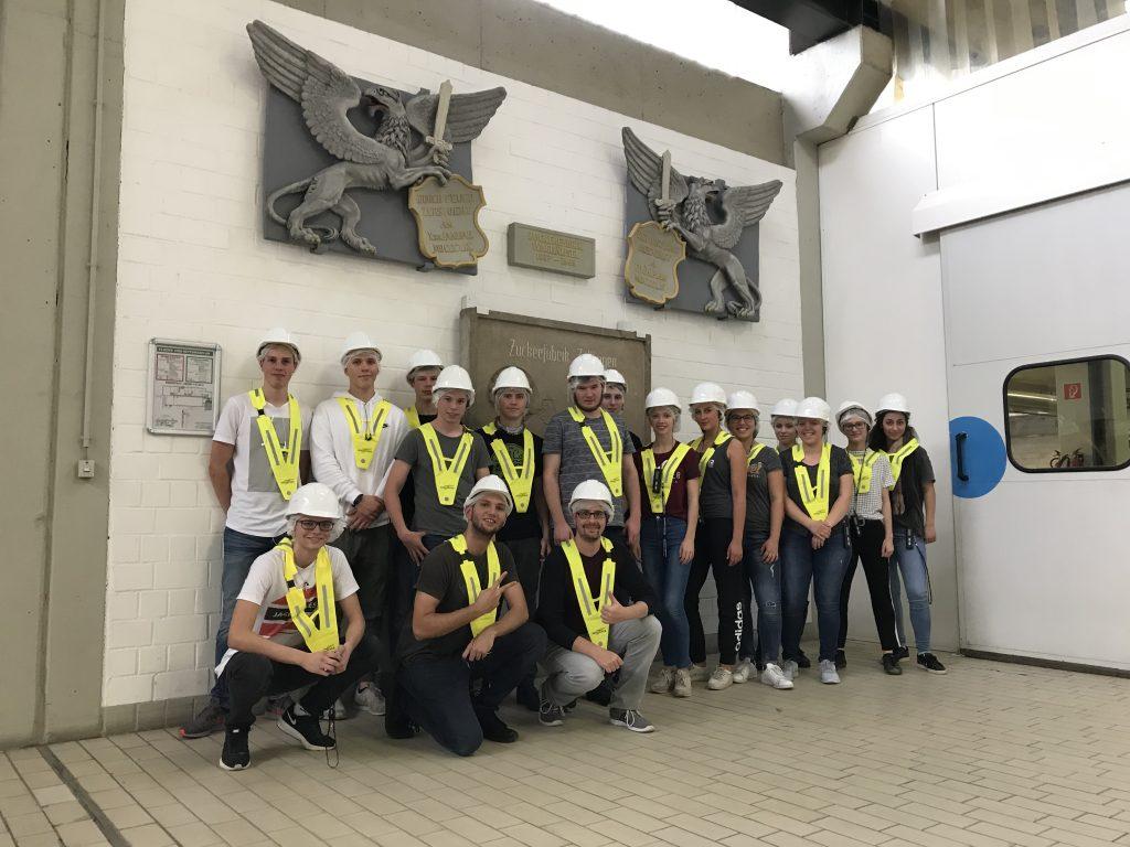 Exkursion des 4-stündigen Chemiekurses zu Südzucker