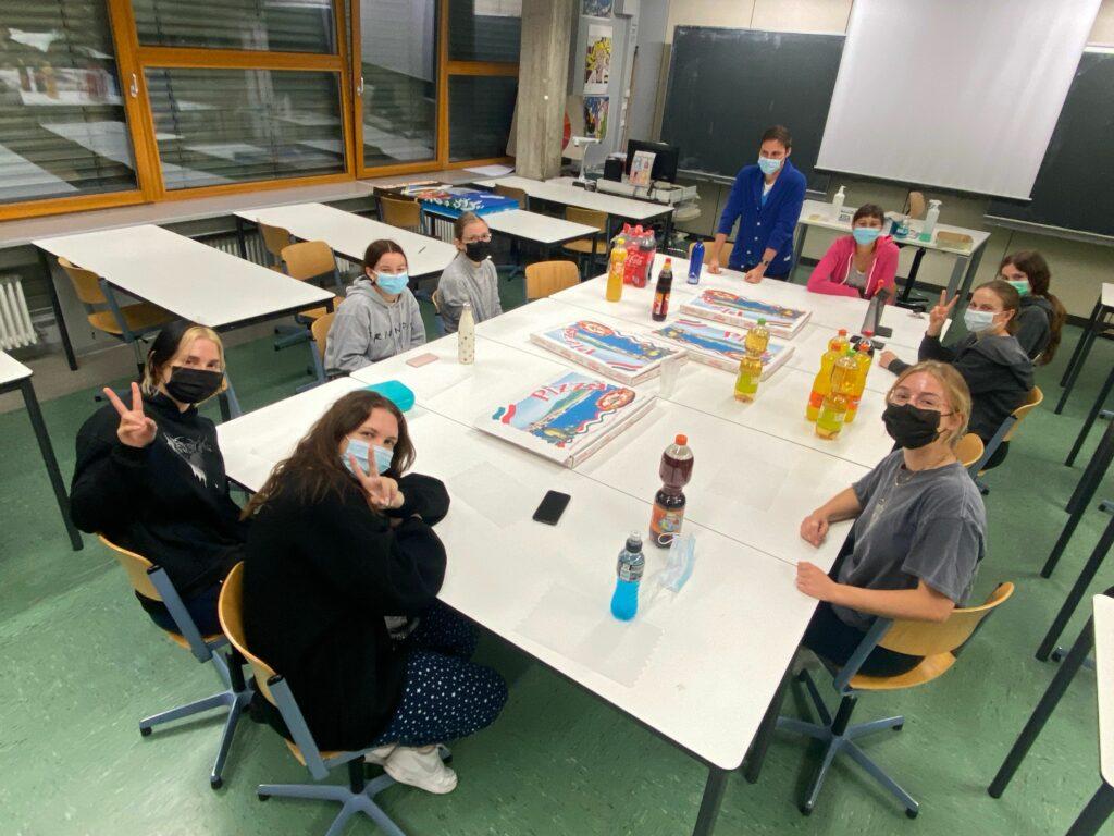 Schulhausübernachtung im Kunst-Escape-Room